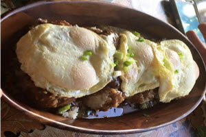 Tantes Island Cuisine Loco Moco Challenge 8 Hamburger Patties 8 eggs 8 scoops of rice reversed RESIZED